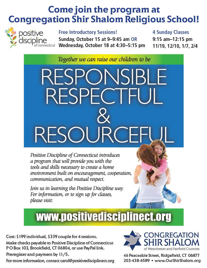 PDCT religious school flyer