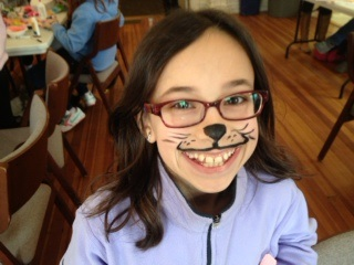 purim catface