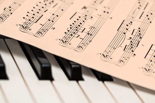 piano and music part